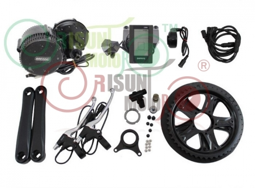 36V 350W BBS01 Bafang 8fun Mid Drive Central Motor Electric Bike Conversion Kits