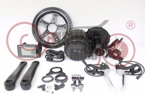 36V 500W BBS02 Bafang 8fun Mid Drive Central Motor Electric Bike Conversion Kits
