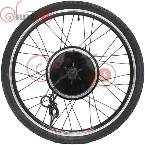 "36V 48V 500W 20""-700c eBike Rear Motor Wheel for Electric Bicycle 135mm with Brushless Gearless Hub Motor"