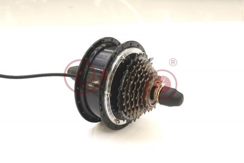24V 36V 48V 250W eBike Brushless Gearless Rear Wheel Mini Hub Motor for Electric Bicycle With Dropout Width 135mm