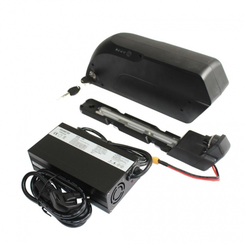 EU Stock 48V 14.5AH Pana sonic TigerShark Frame Case Lithium Battery 5A Charger