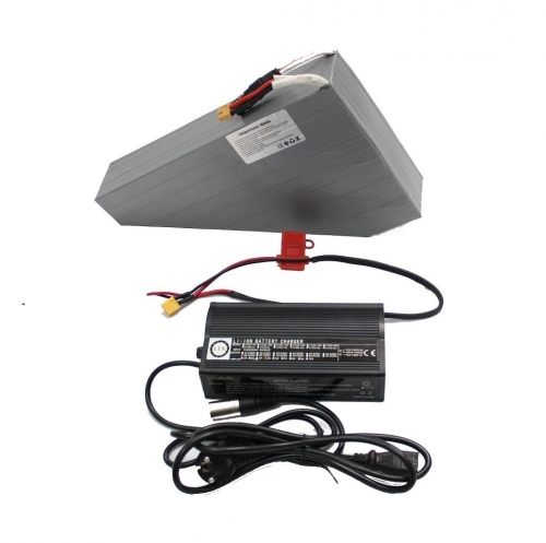 52V 15AH 17.5AH 20AH 22.5AH OEM Down Tube Triangle Lithium Battery