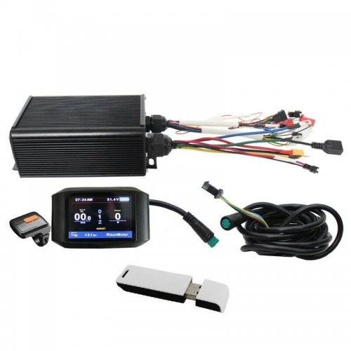 36V-72V 1000W-2000W 45A  Controller+ Color LCD +Bluetooth Module