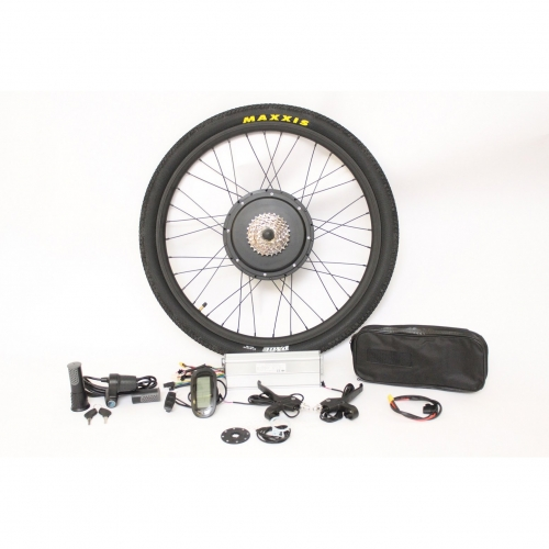 "EU Stock 36V 1200W 48V 1500W Powerful eBike 26""Rear Wheel Conversion Kits"
