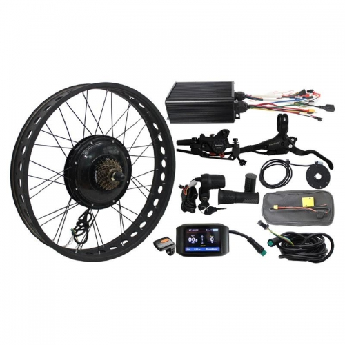 48V 1500W Fat Tire eBike Conversion Kits for Electric Bike Snow Bike