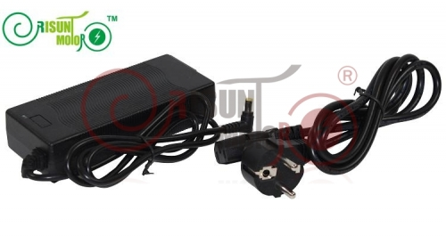 54.6V 2A Lithium Battery Charger For 48V Li-ion/Li-Po Battery in Plastic Case Electric Bicycle