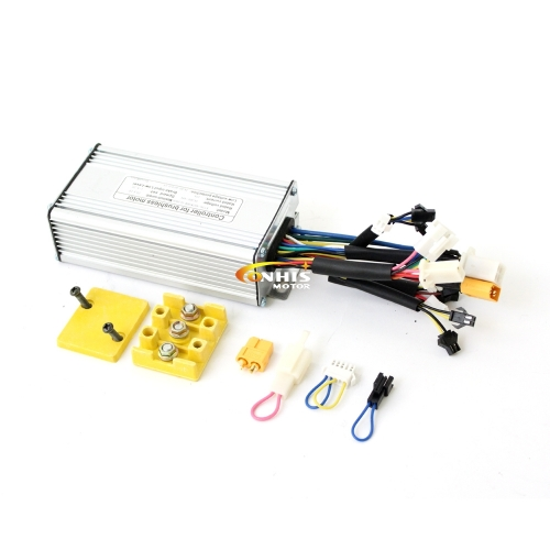 24/36V48V 300W/500W/600W 25A eBike Brushless DC Controller support Regenerative Function