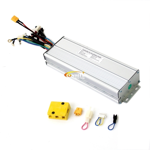 36V/48V 1500W/1800W 45A eBike Brushless DC Controller support Regenerative Function
