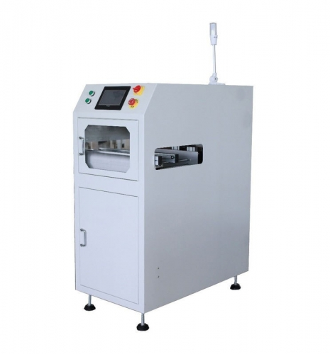 Precision SMT PCB Loader Machine with 4-6 Bar Air Supply, Min 0.6mm PCB Thickness