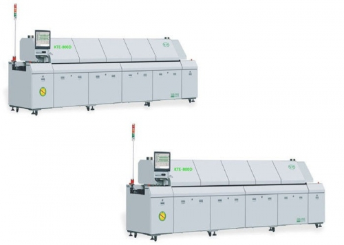 High Precision Lead Free Reflow Oven Equipment for Reflow Soldering LED PCB Board, KTE-800D