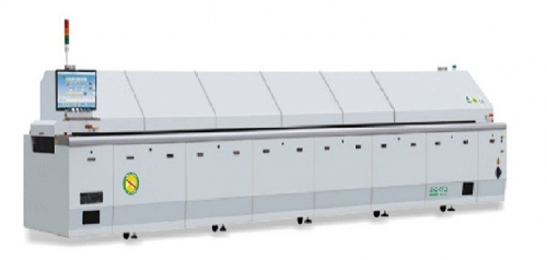 Grey SMT PCB Reflow Oven Machinery Guide with Special Hardening Treatment, KT-800D
