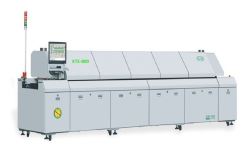 Professional SMT Reflow Oven, Reflow Soldering Oven UP2 Cooling Air Conversion, KTE-800