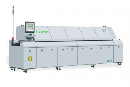 SMT Reflow Oven Machine with Double Safety Control Mode, 83KW Total Power, KTE-1000D