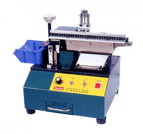 Loose Radial Lead Cutting Machine with Surface Vibrating Feeding Mode, HS301