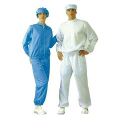 Chemical Industry Anti Static Products ESD Garments, with Shirt and Workwear Trousers