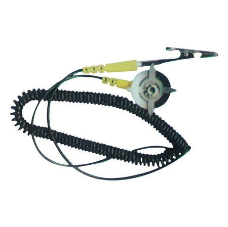 ESD Earth Wire Anti Static Grounding Cord, with Banana Plug for ESD Mat Grounder