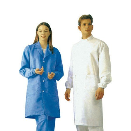 Clean Room Anti Static Products ESD Lab Coats Outwear, with Greaseproof Non Toxic