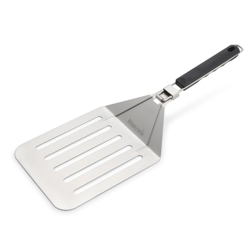 Stainless Steel Pizza Peel Spade,Stainless Steel Pizza Shovel Paddle With Foldable Handle