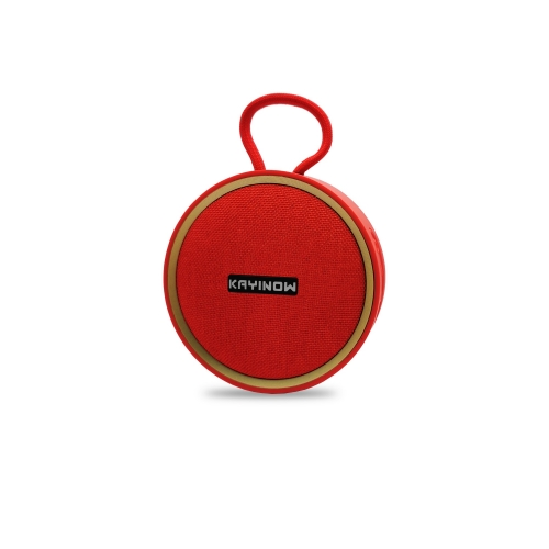 Round Portable Wireless Speaker