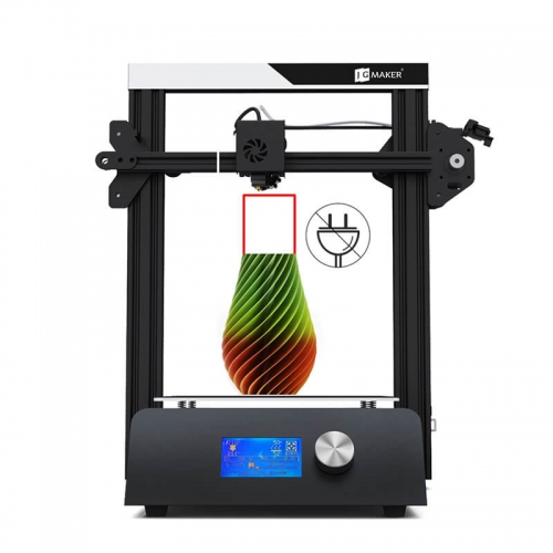 JGMaker Magic 3D Printer 220x220x250mm Power Off Resume Printing with Sturdy Metal Base