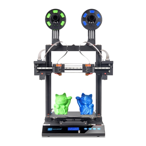 JGMaker Artist-D Dual Extruder Independent 3D Printer direct drive 300*300*340mm 3 Years Warranty