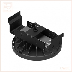 100w led ufo high bay light with excellent heat sink usa standard power box and meanwell power