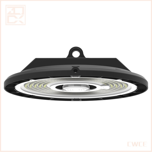 Industrial high bay lighting 200w ufo fixtures warehouse luminaire high efficiency light 190lm/w