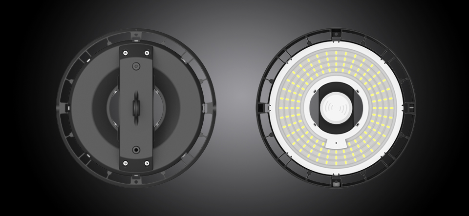 CWCE FHBL-A 100W-200W Specification (with Non‐isolation Driver) LED High Bay Light