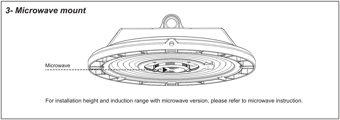 LED High Bay Light Installation Manual