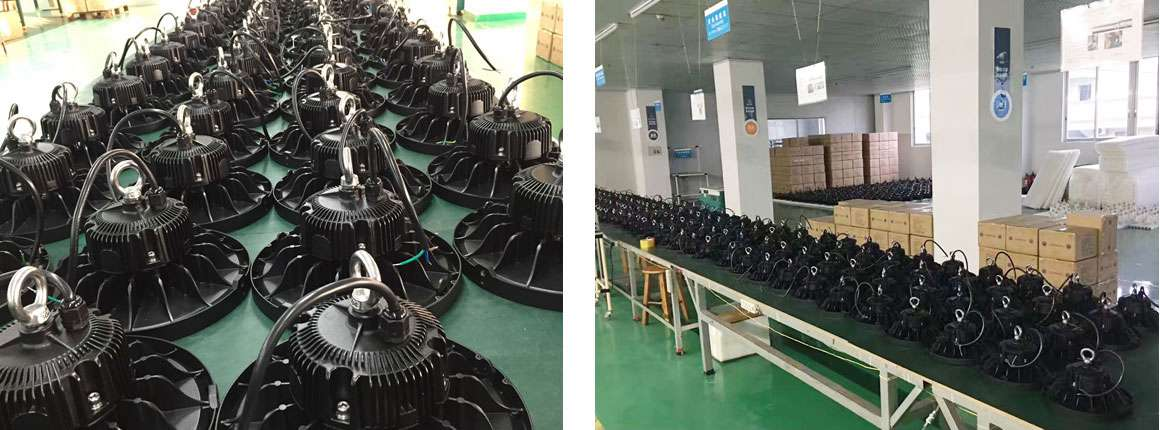 Packing and Shipping HIGH BAY LED LIGHTING