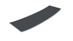 Pre-slit Curved Board