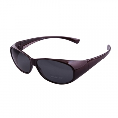 wrap around polarised fit over fishing sunglasses