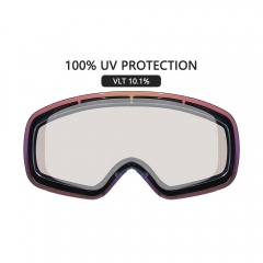 best cool asian fit womens mirrored ski goggles