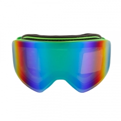 best pink purple mirror magnetic snow goggles