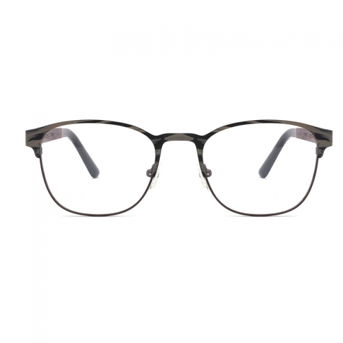Retro Wooden Plain Glasses Frame For Men Women Myopia Prescription Optical CR-39 Clear Lens Eyeglasses Frames Eyewear