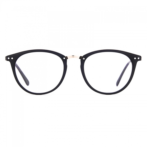 Acetate Round Glasses Frames Women Men Vintage Optical Myopia Transparent Spectacles Eyewear Prescription Eyeglasses