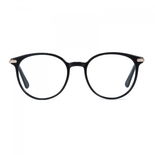 Acetate Round Glasses Frame Women Fashion Prescription Eyeglasses Vintage Transparent Optical Myopia Eye Glasses Frames