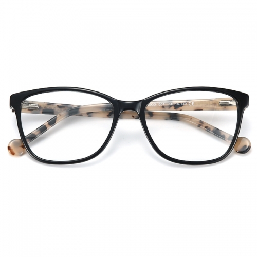 Ultralight Acetate Glasses Frames Women Designer Cat Eye Myopia Optical Eyewear Female Square Prescription Eyeglasses