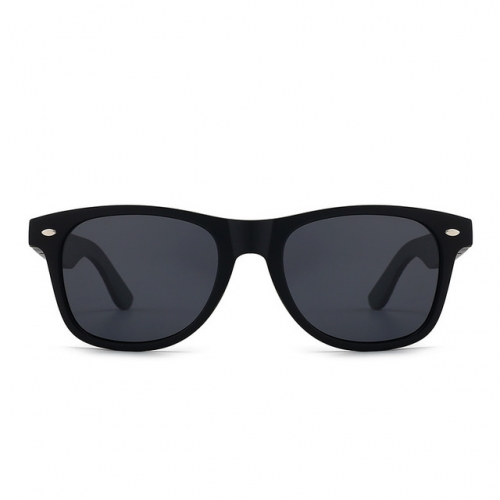 Bamboo Sunglasses New Bamboo Sunglasses men's and women's color film natural bamboo frame glasses