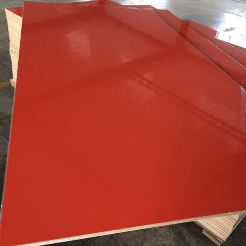 high glossy UV mdf /melamine board/laminated mdf for kitchen cabinet