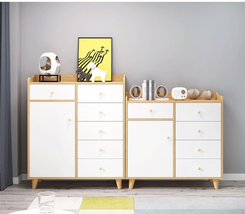 Nordic Chest of Drawers Simple Modern Bedroom Lockers Drawer Cabinet