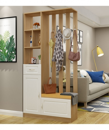 Shoe Cabinet Integrated Simple Modern Living Room Decoration Hall Partition Cabinet Shoe Rack