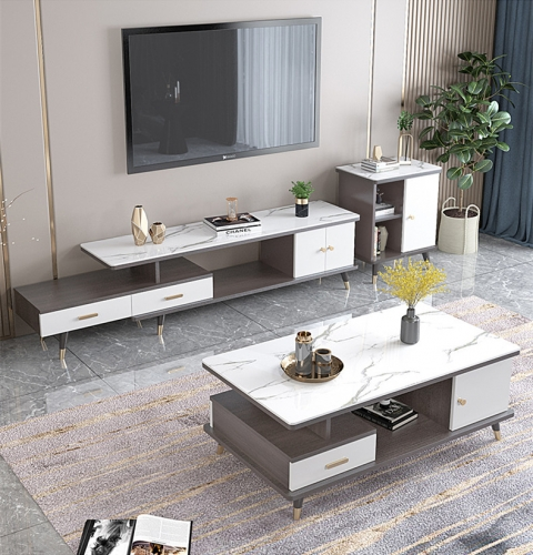 TV Cabinet Coffee Table Set Nordic Bedroom Simple TV Cabinet Modern Simple Living Room TV Cabinet/TV Stand