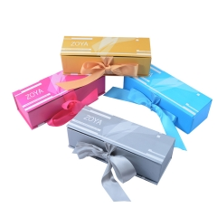 Ribbon Paper chocolate packaging box