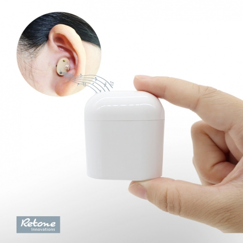 2020 newly launched hot sales mini rechargeable cic hearing aid