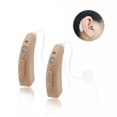 Self-fitting Bluetooth hearing check rechargeable BTE digital hearing aid with wireless which are similar to hearing assist