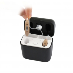 Rechargeable Hearing Aids with Portable Chargeraid