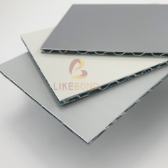 Plain And Metallic Color A2 Fire-Rated Aluminum Core Composite Panel