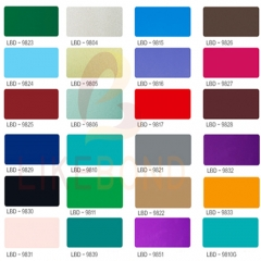 Color Catalog of Aluminum Sheet