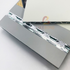 Fire-rated 6mm Aluminum 3D Panel